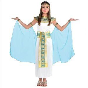 Other - 🆕 Girls Shimmer Cleopatra Costume, Large